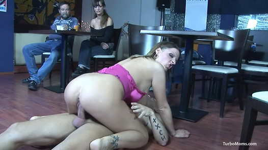 image Hungarian milf eszter rough fucking while other watching